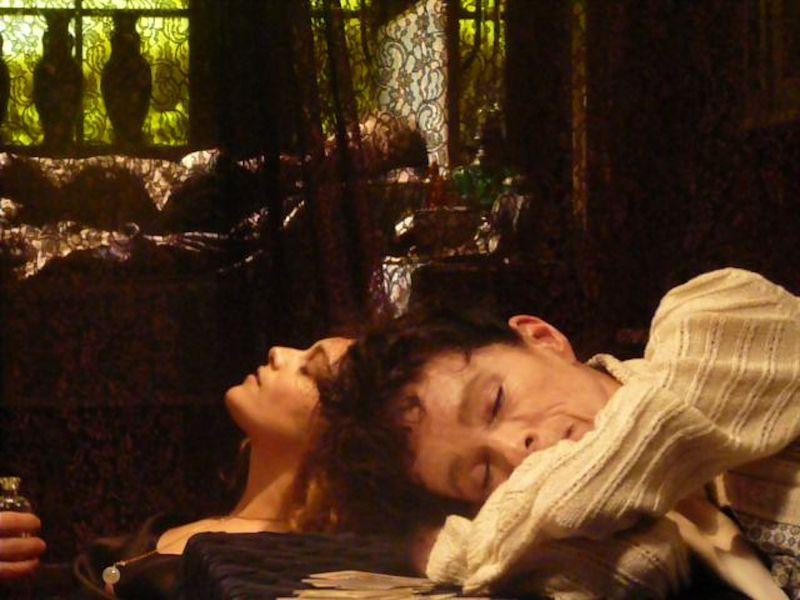 TheForbiddenRoom Ariane Labed and Geraldine Chaplin