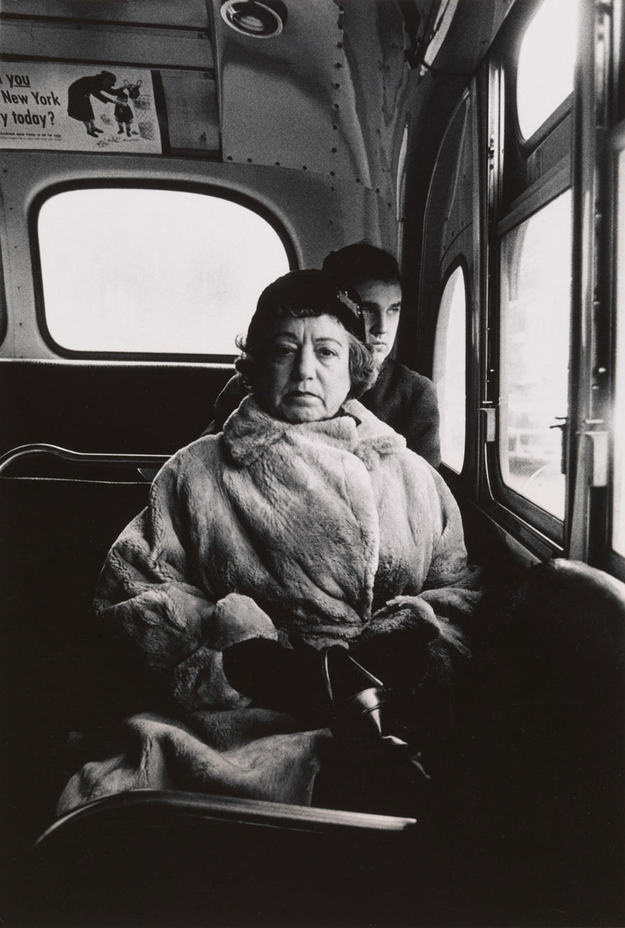 MONROWE, A Day with Diane Arbus - Lady on bus