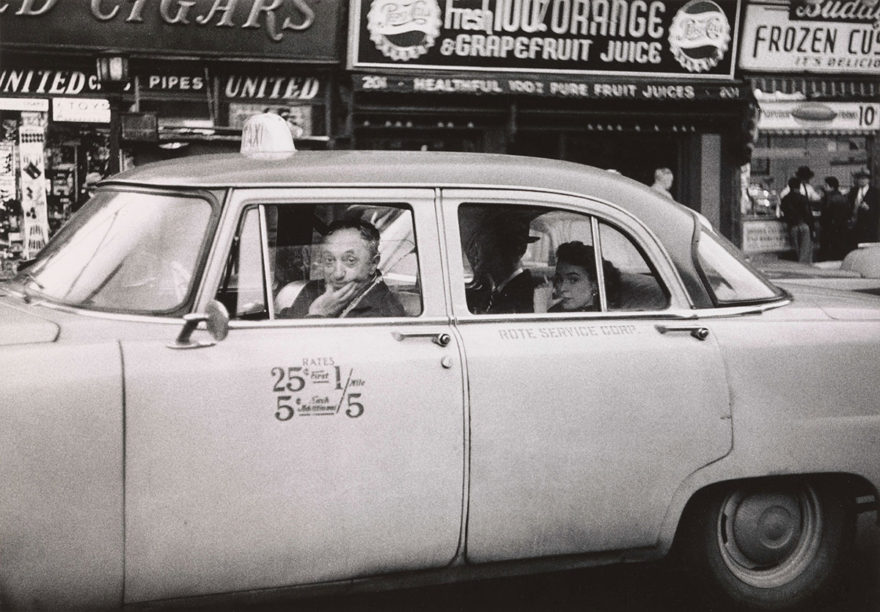 MONROWE, A Day with Diane Arbus - Taxi Cab