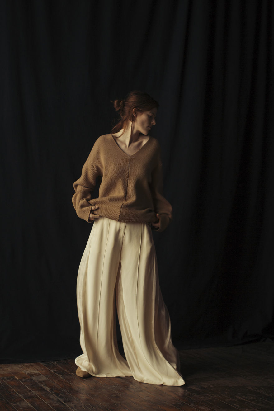 Rose Leslie wearing Pierre Hardy, Christina Economou, and Rhie for MONROWE Magazine. Photography by Krisztian Eder.