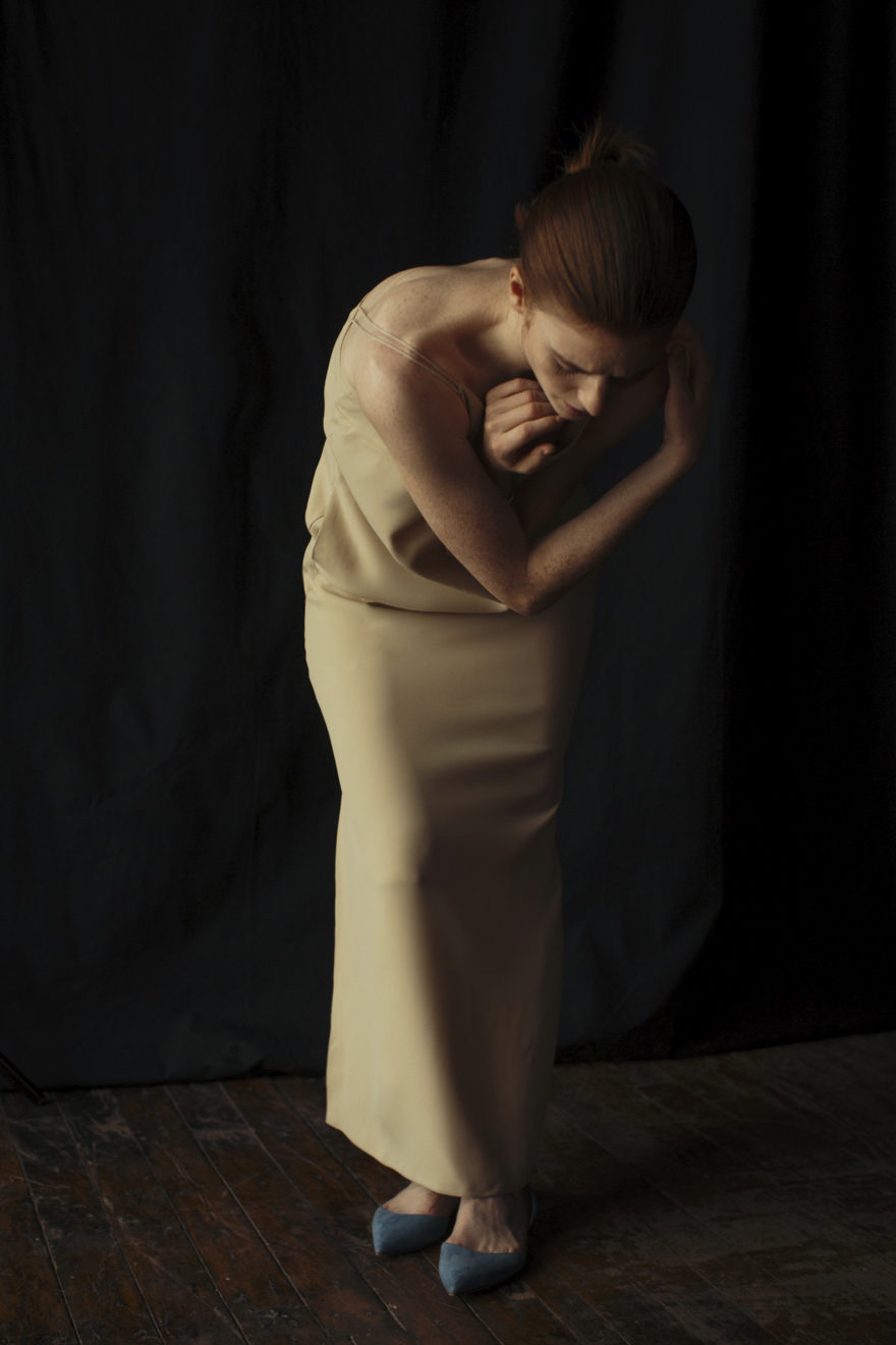 Rose Leslie wearing Paul Andrew, Jennifer Fisher, and M.Martin for MONROWE Magazine. Photography by Krisztian Eder.