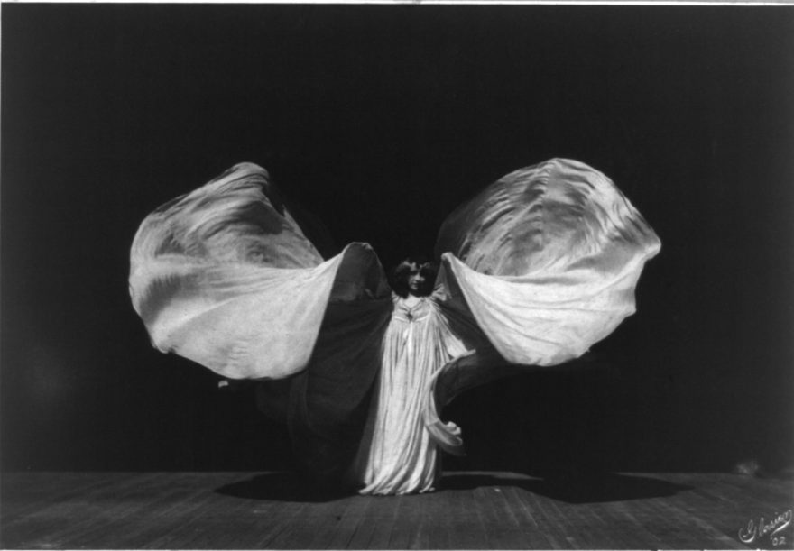 Loie Fuller - Danse Serpentine - Library of Congress
