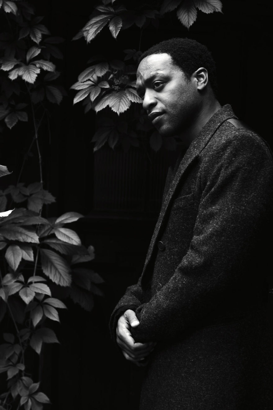 Chiwetel Ejiofor for MONROWE Magazine. Black and white photography by Jessie Craig.