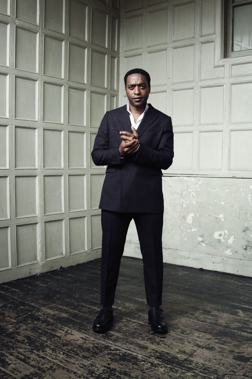 Chiwetel Ejiofor wearing Cerruti 1881 and Saint Laurent for MONROWE Magazine. Photography by Jessie Craig.