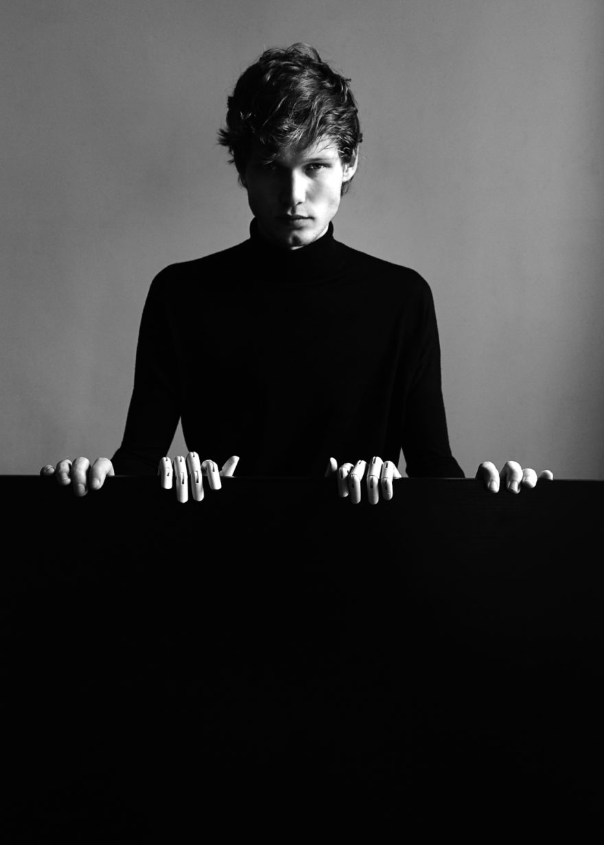 Black and white photograph by Lucas Cristino for MONROWE Magazine.