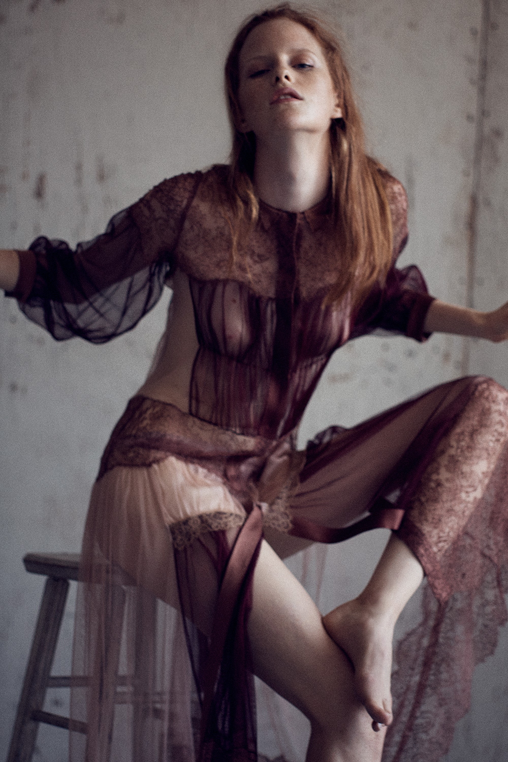 Image of Magdalena Jasek for MONROWE Magazine. Photo by Nick Hudson