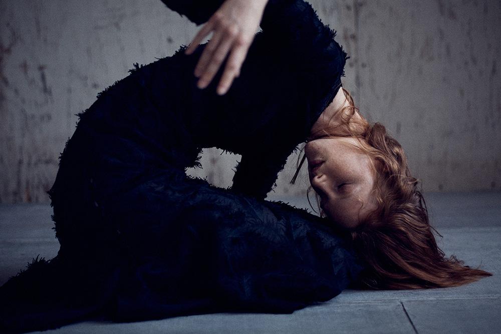 Image of Magdalena Jasek for MONROWE Magazine. Photo by Nick Hudson