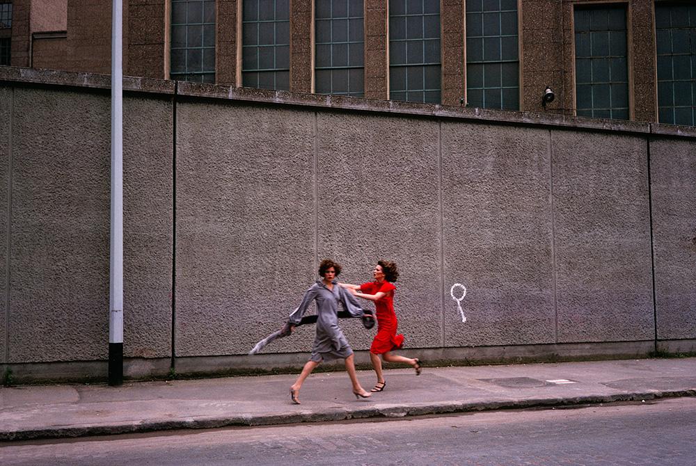 Image of Guy Bourdin, Paris Vogue 1975, clothing by Chloe, MONROWE