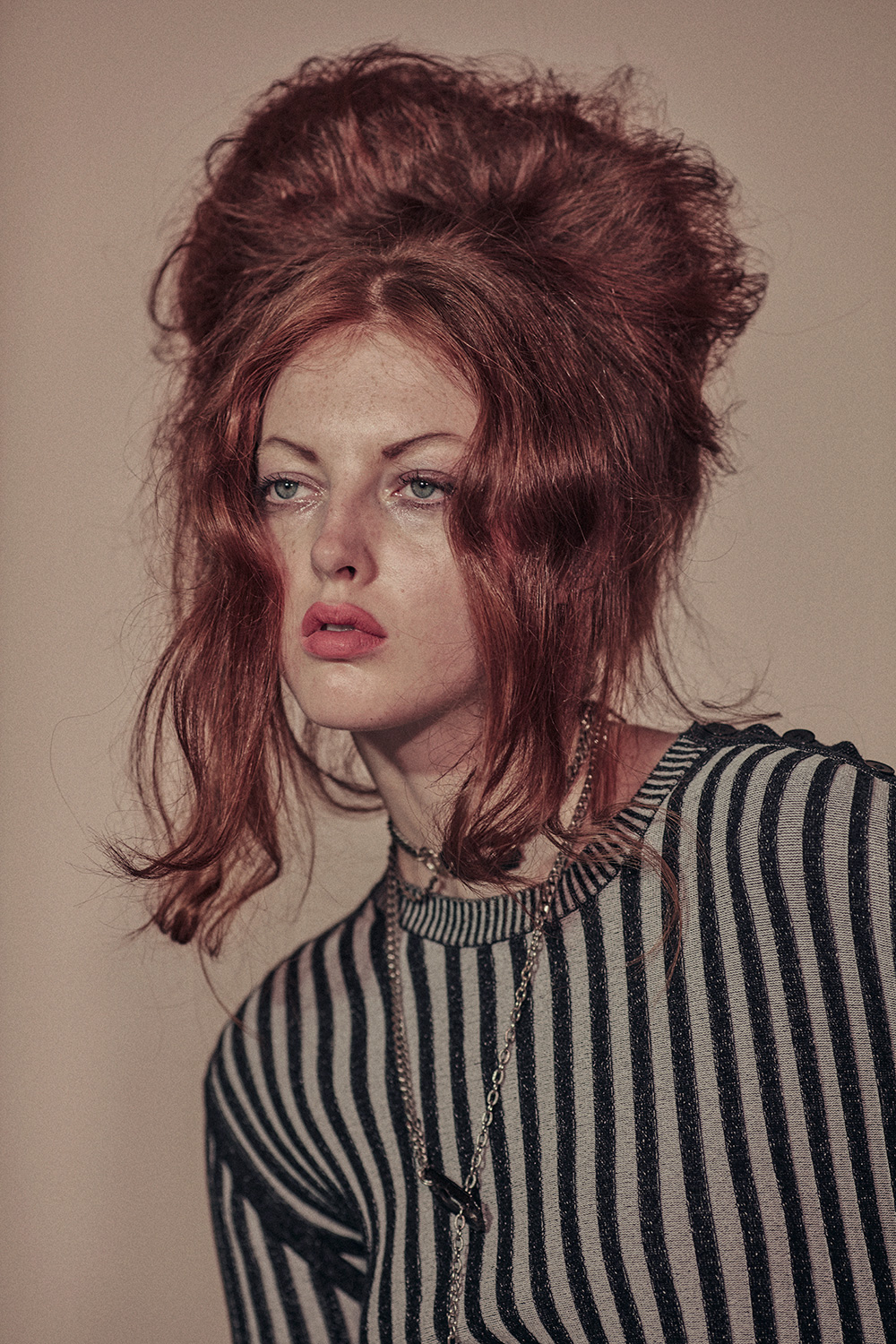 Laura Hanson, Young Blood by Guy Lesser. Photography by Anthony Balsko. Style by Priscilla Polley for MONROWE Magazine.
