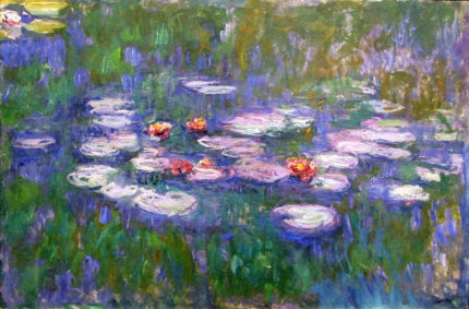 """image of Monet - """"Water Lilies"""""""