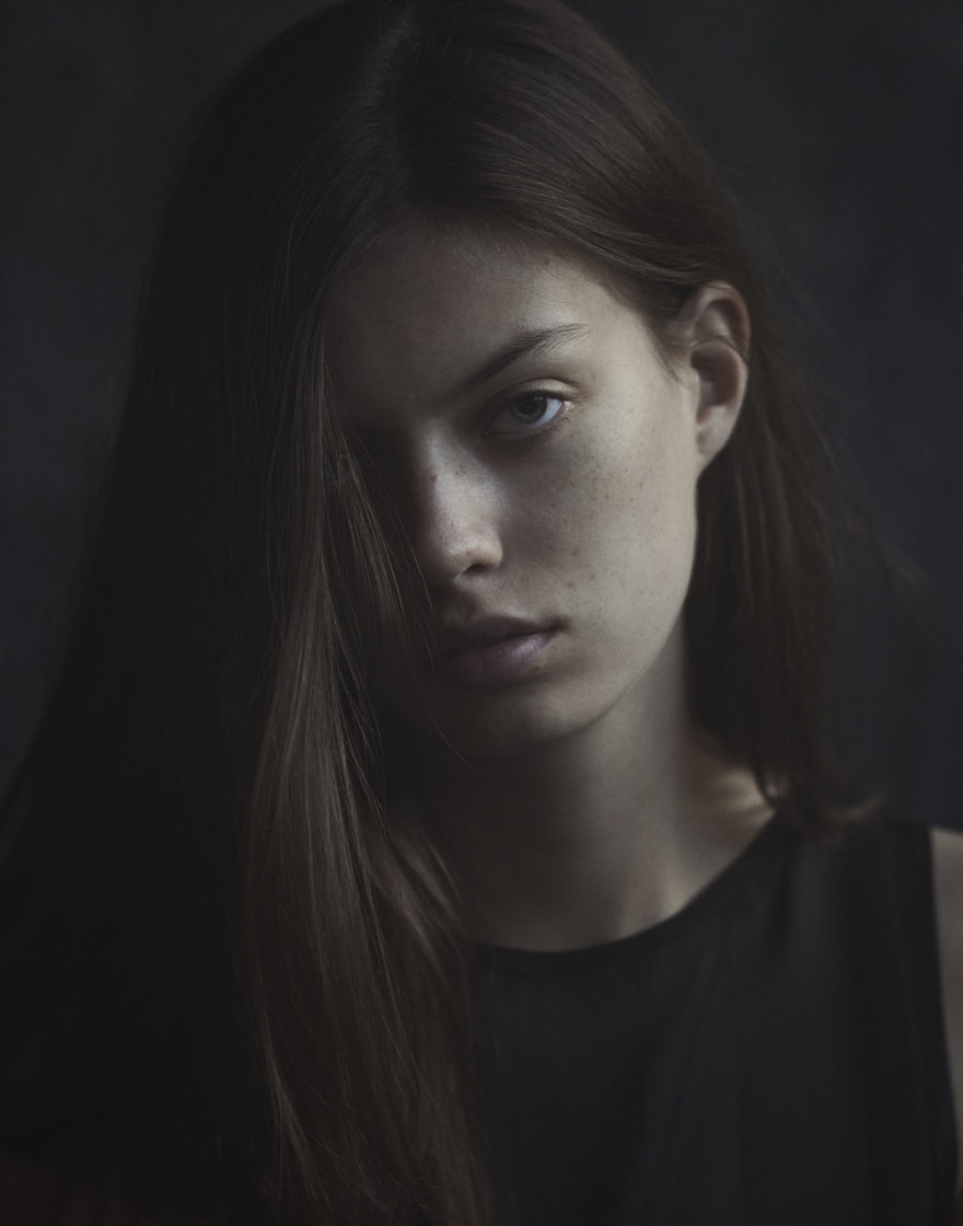 Photograph of model Julia Eckhoff by Ryan Kelly for MONROWE Magazine.