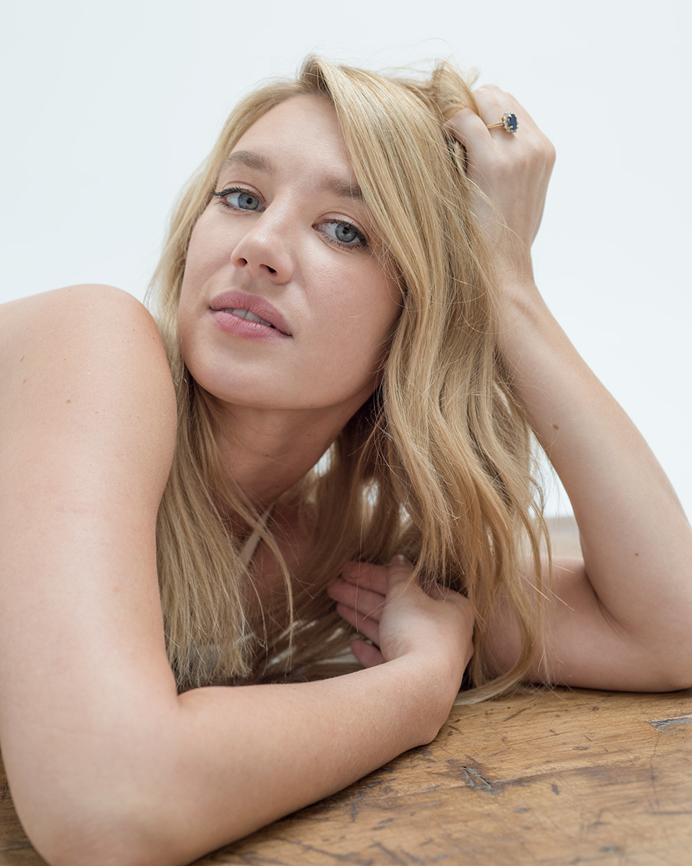 Photo of actress Yael grobglas by Christian Witkin for MONROWE Magazine