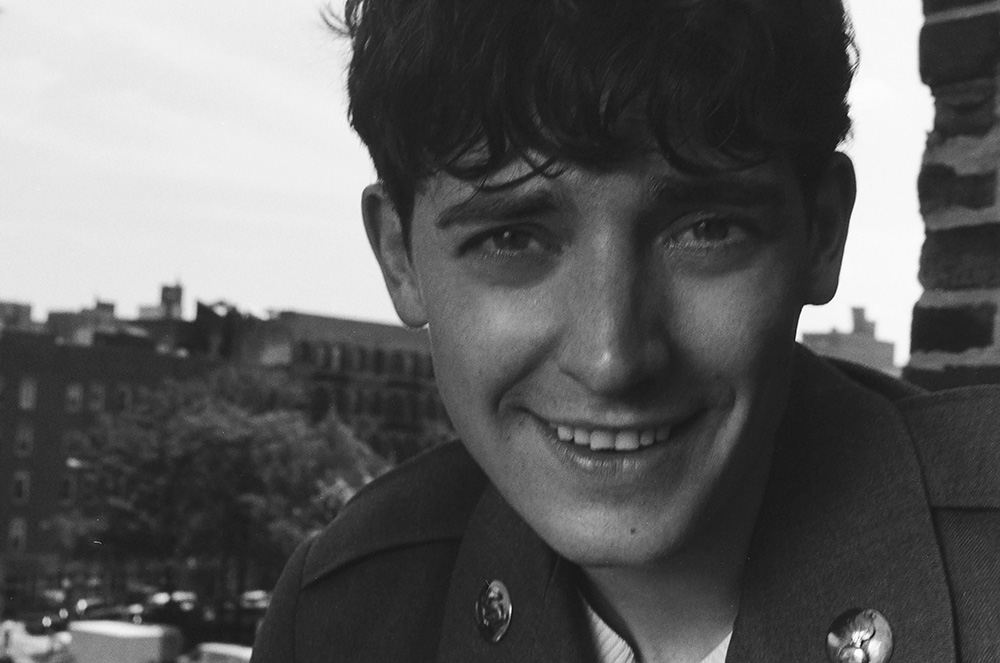 Black and White photo of Aneurin Barnard by Francesco Barion.