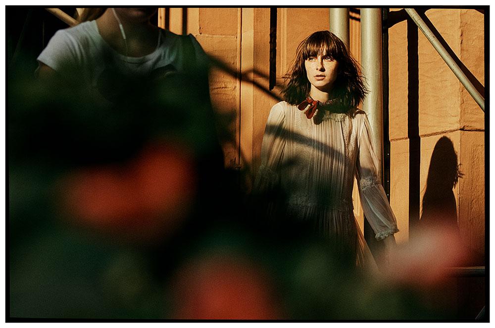 Photo by Jake Jones of model Kara Gall for MONROWE magazine