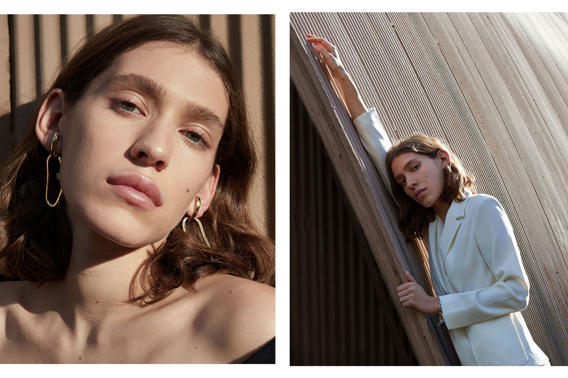 Colored photos by Manolo Campion for MONROWE Magazine styled by Carolina Orrico