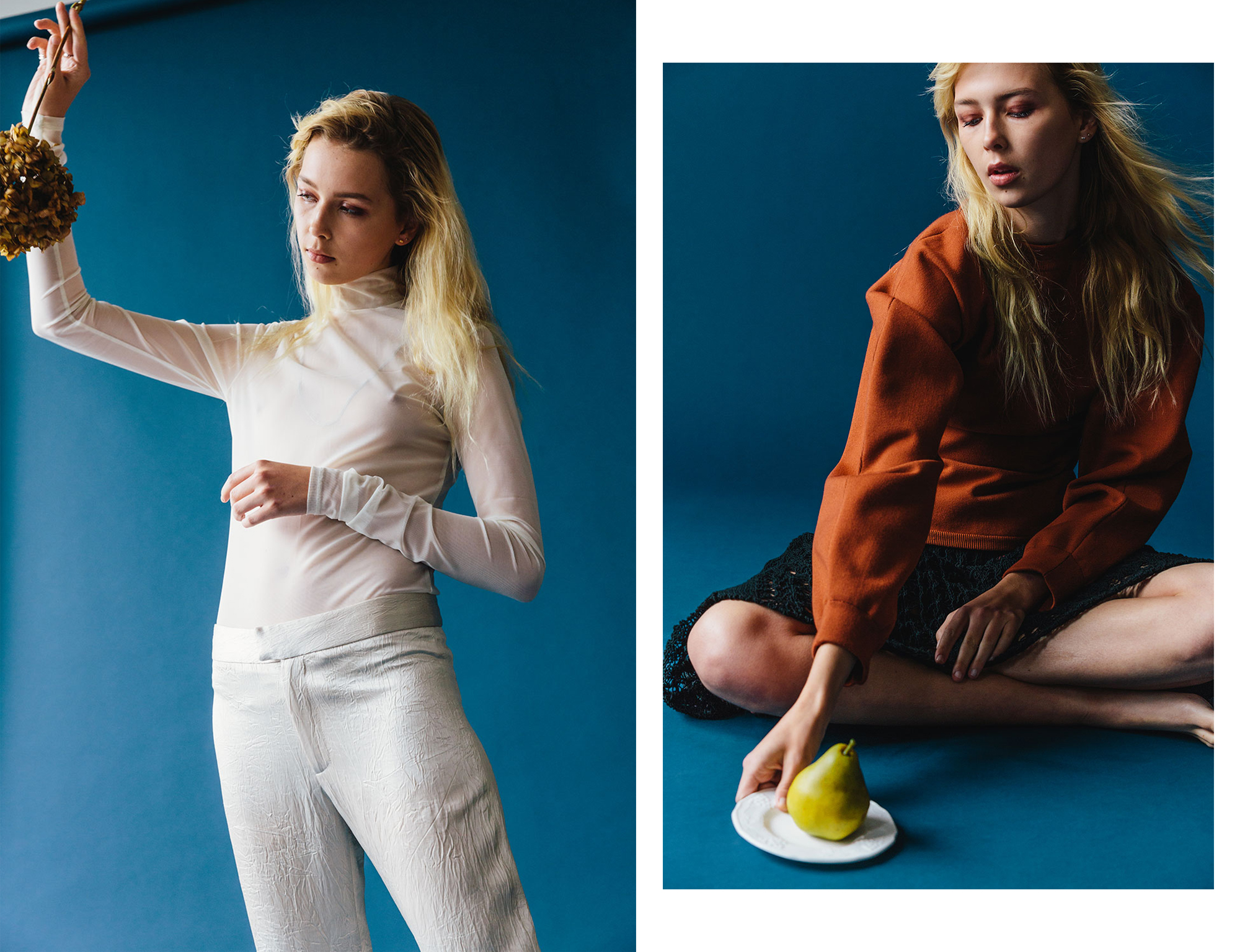 Colored photos of Nova Orchid by Whitney Haynes for MONROWE Magazine