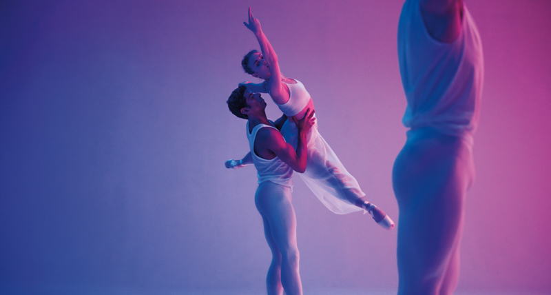 Tiler Peck & Amar Ramasar by Bon Duke for MONROWE Magazine