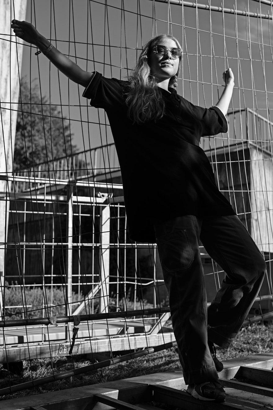Norweigan artist Fieh shot by Victoria Stevens for MONROWE Magazine